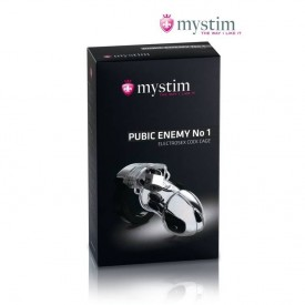 Kyskhedsbælte med elektro stimulation. Træn eller afstraf din slave med dette unikke produkt fra MyStim.