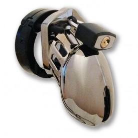 CB-6000 small chrome chastity device