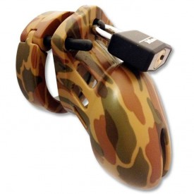 CB-6000 army small chastity device from CB-X