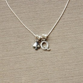 Queen of Spades necklace - 1