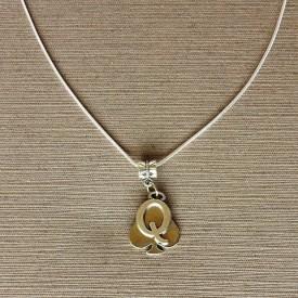 Queen of Spades necklace - 4