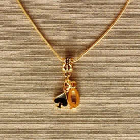 Queen of Spades necklace - 5
