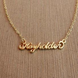 Keyholder necklace