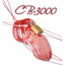 Chastity device CB-3000 pink from CB-X
