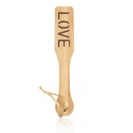 Wodden paddle - LOVE