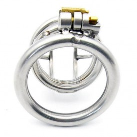 Enjoy 3 is the largest chastity device in the Enjoy serie. Choose your own size of backring.