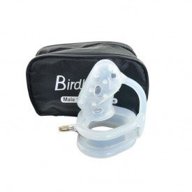 Prisonbird chastity device made of silicone