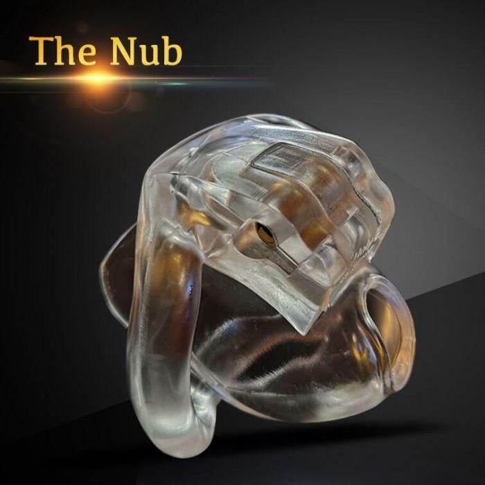The nob micro chastity device
