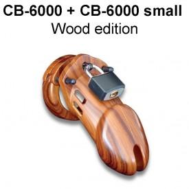 CB-6000 & CB-6000 small kyskhedsbælte i træ