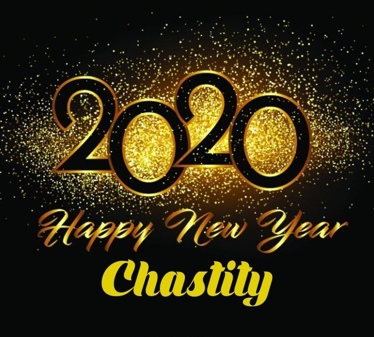 2020 The Year of chastity